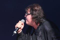 Le chanteur et le compositeur Igor Kornelyuk Jour du drapeau russe d'état Photo libre de droits