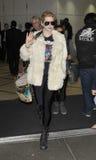 Le chanteur Kesha est vu chez LAX. Octobre photo libre de droits