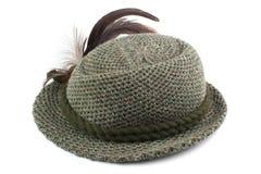 Le chapeau de l'homme démodé du Tirol Photographie stock