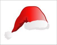 Le chapeau de Santa Photo stock