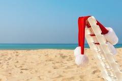 Le chapeau de Santa Photos libres de droits