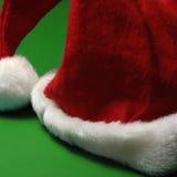 Le chapeau de Santa de Noël Photographie stock libre de droits