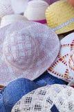 Le chapeau du femme Photo libre de droits