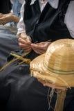 Le chapeau-fabricant Image stock