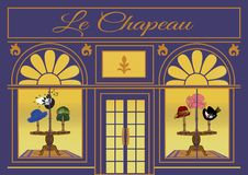 Le Chapeau royalty free stock photos