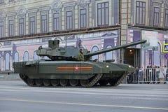 Le char de bataille de T-14 Armata Photos libres de droits