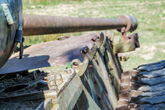 Le char de combat amarrent dedans Photo stock