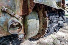 Le char de combat amarrent dedans Images stock