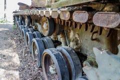 Le char de combat amarrent dedans Photos stock