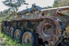 Le char de combat amarrent dedans Images libres de droits