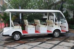 Le chariot électrique Image libre de droits