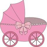 Le chariot des enfants Photo stock