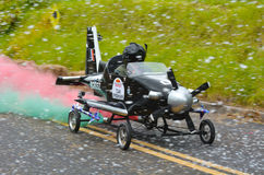 Le chariot Grand prix 2015 à Red Bull Images libres de droits