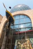 Le chariot naval, ou la barque du gala dans le musée de Dali, dedans Images libres de droits