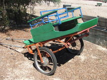 Le chariot vert Image stock