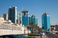 Le Charjah EAU Photos libres de droits