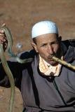 Le charmeur de serpent Photos libres de droits