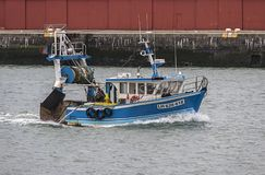 Le Charognard Fishing Boat In Le Havre, France Stock Photos