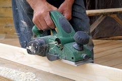 Le charpentier Image stock