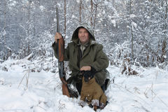 Le chasseur Images stock