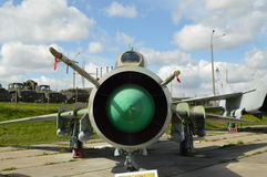 Le chasseur-bombardier Su-17 M Images stock