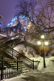 Le Chateau Frontenac Stock Images