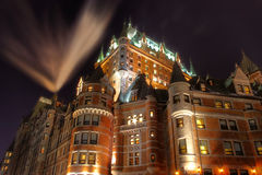Le Chateau Frontenac Royalty Free Stock Photo