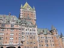 Le Chateau Frontenac a Quebec City Fotografia Stock Libera da Diritti