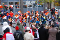 Le Chef Pack de 2014 de NYC hommes de marathon Photo stock