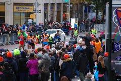 Le Chef Pack de 2014 de NYC hommes de marathon Photographie stock