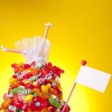Le chef plus de guérissent dans la sucrerie et l'amour Images stock