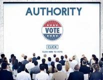 Le Chef Ruler Politics Concept d'autorité photographie stock
