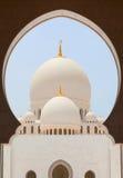 le cheik de mosquée zayed Photo stock