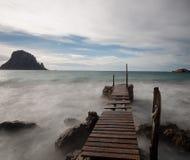 Le chemin au paradis Photos libres de droits