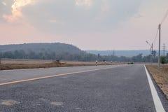 Le chemin autour de la montagne Image stock