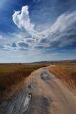 Le chemin dans le ciel Image stock