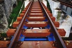 Le chemin de fer images libres de droits
