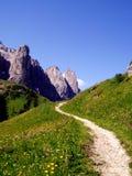 Le chemin de la montagne Image libre de droits