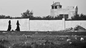 Le chemin des ombres Photos libres de droits