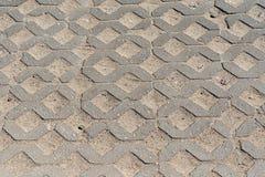 Le chemin du plancher en béton en pierre Image libre de droits