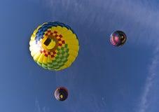Le chemin grand de ballon de Reno, de dessous illustration de vecteur