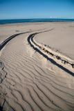 Le chemin vers la mer photo libre de droits