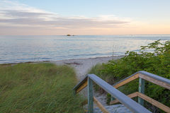 Le chemin vers une Floride verrouille des vacances Photographie stock libre de droits
