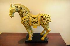 Le cheval en céramique Photos libres de droits