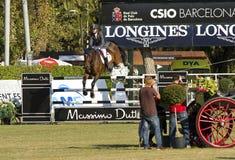 Le cheval sautant - Rutherford Latham Photos libres de droits