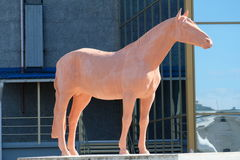 Le cheval - VDNH - Moscou, Russie Image stock