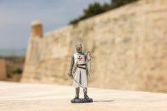 Le chevalier maltais est un souvenir traditionnel de Malte image stock