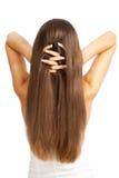 Le cheveu des femmes photo stock