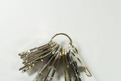 Le chiavi si dirigono Fotografia Stock Libera da Diritti