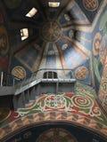 Le chiese ortodosse orientali sono riempite di belle immagine e pitture immagine stock